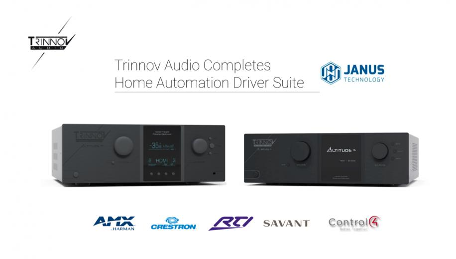 Trinnov Audio announces Crestron Home driver