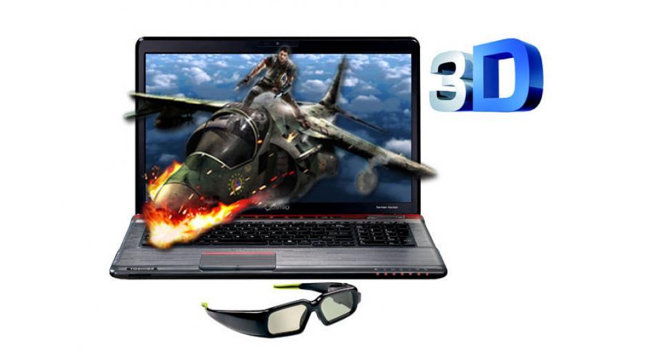 Toshiba Qosmio X770-136 Gaming 3D Laptop Review