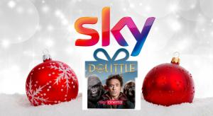 Sky free Christmas gifts include movies, data and calls