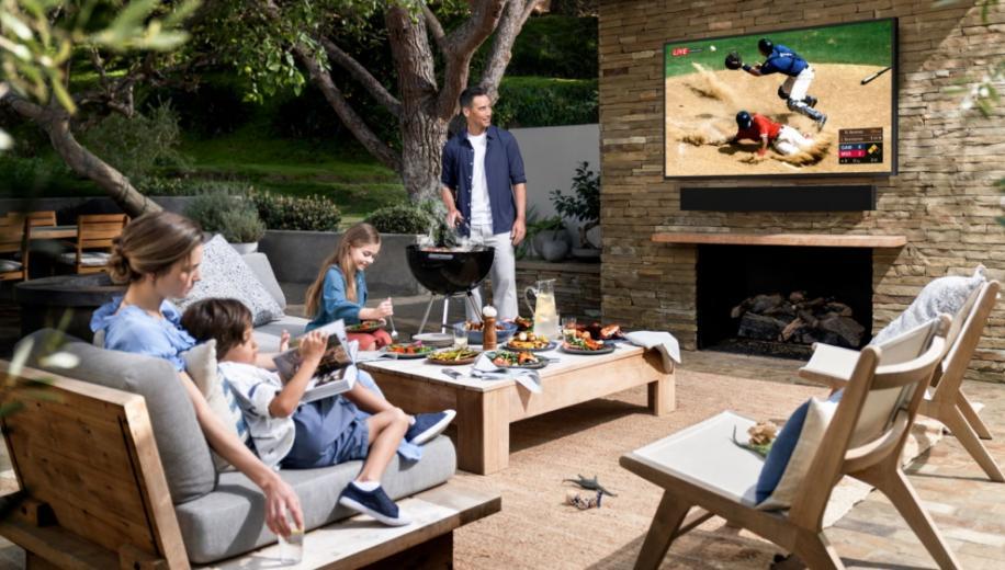 Samsung unveils Terrace weatherproof 4K QLED TV for outdoor viewing