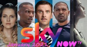 What's new on Sky and NOW TV UK for January 2021