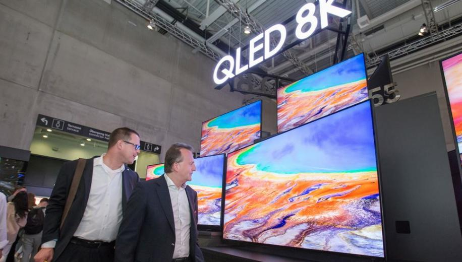 Samsung developing 5G based 8K TV with SK Telecom