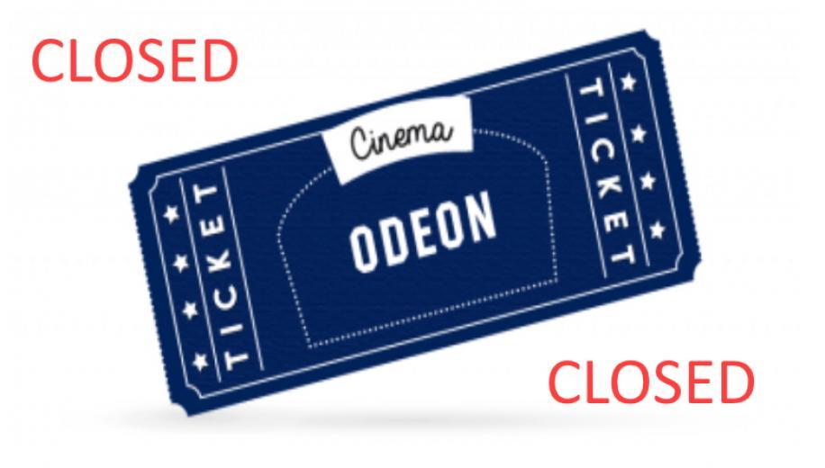 Odeon Cinemas closed until further notice