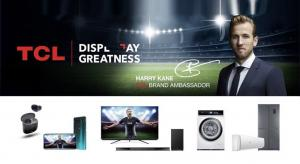 TCL TVs championed by Harry Kane