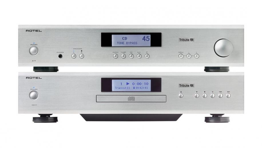 Rotel announces Tribute Edition A11 amplifier and CD11 CD Player