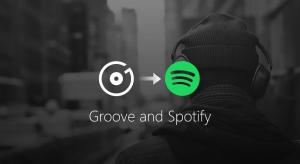Microsoft to end Groove Music Streaming & move customers to Spotify