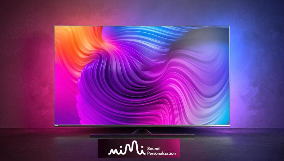 Philips TV to offer Mimi Sound Personalisation