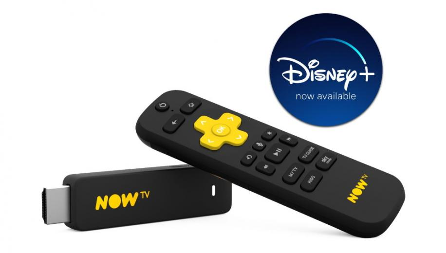 Disney+ launches on NOW TV