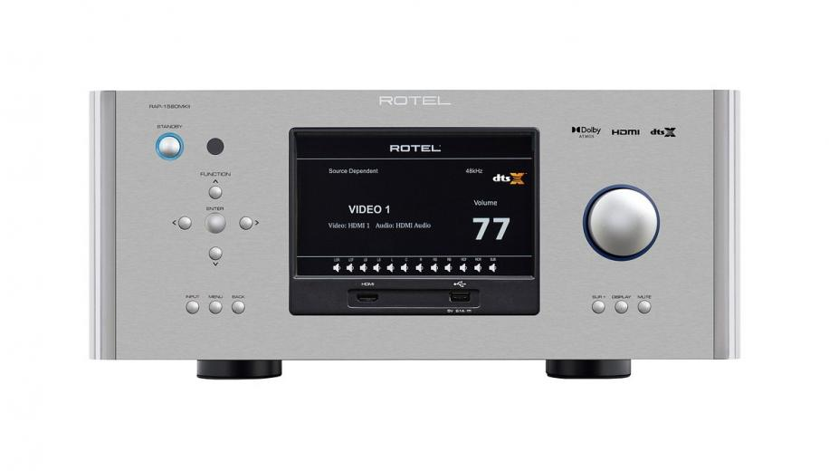 Rotel introduces RSP-1576MKII  and RAP-1580MKII surround processors