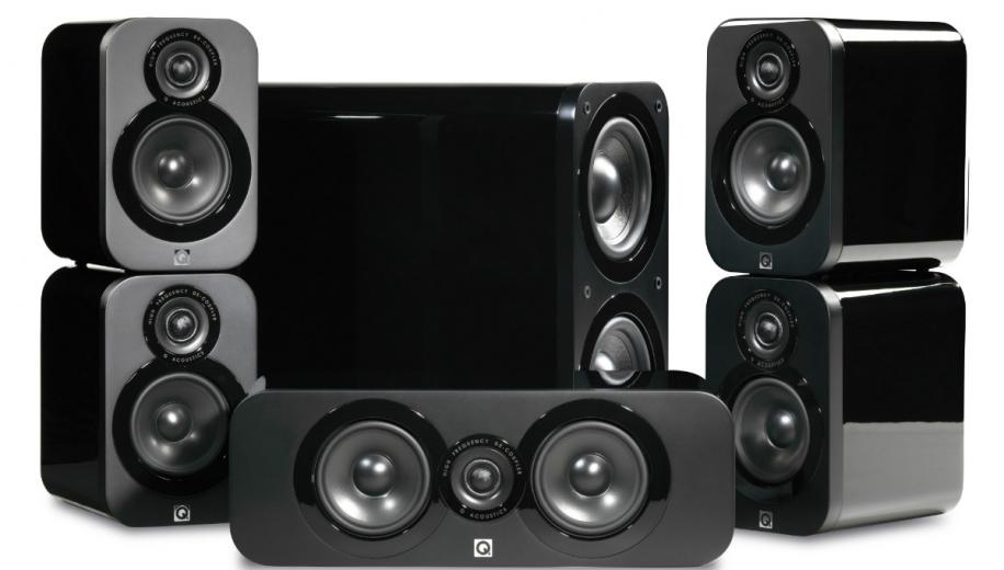 Q Acoustics 3000 5.1 Speaker System Review