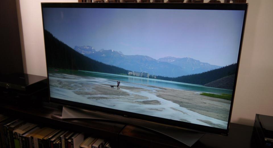 LG 55UF950V (UF950) UHD 4K LED TV Review