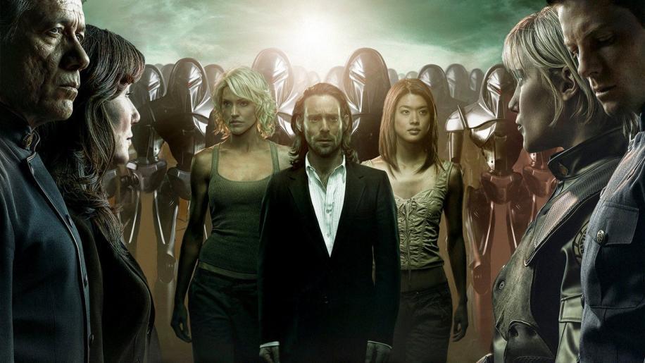 Battlestar Galactica: The Miniseries DVD Review