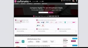 AVForums Launch TV, Broadband & phone comparison tool