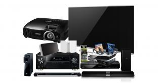 Win a Home Entertainment system worth £5k