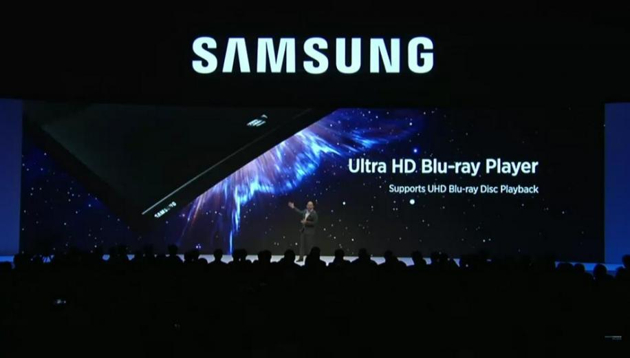 Samsung to release curved 4K Ultra HD Blu-ray Player