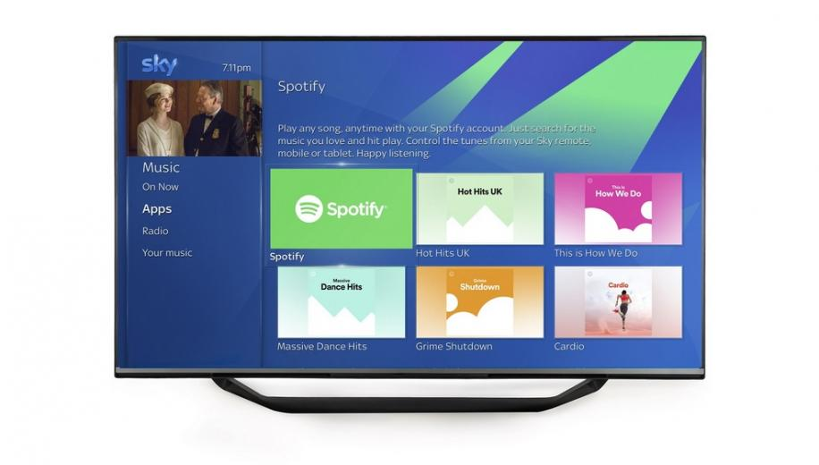 HDR and Spotify coming to Sky Q