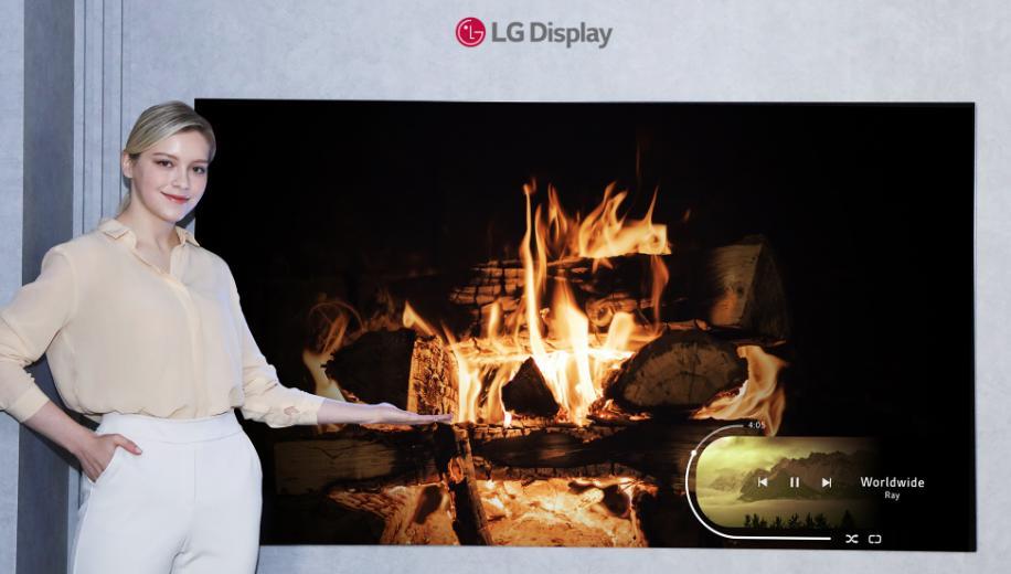 LG Display unveils next generation OLED TV technology