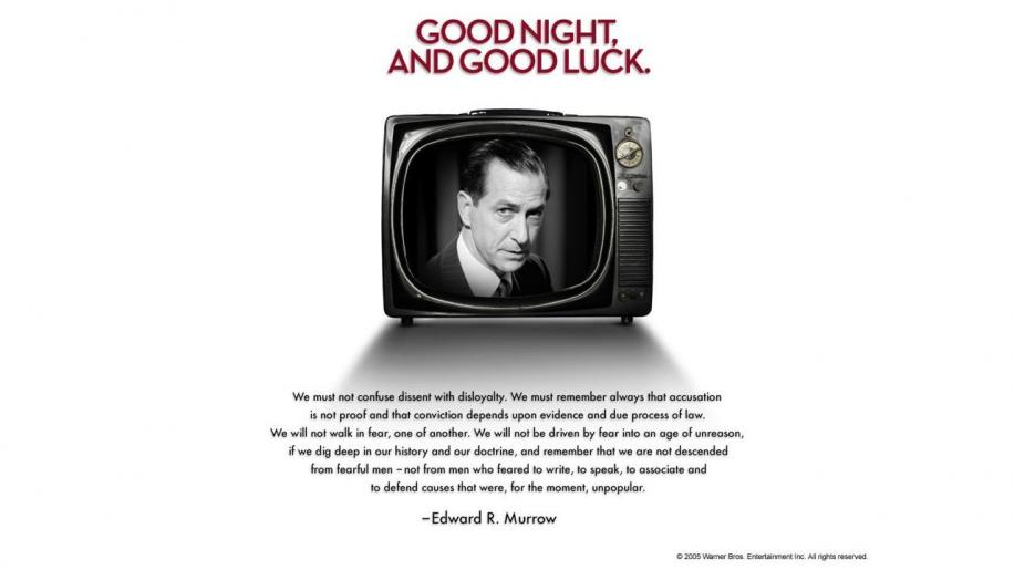 Good Night, and Good Luck DVD Review