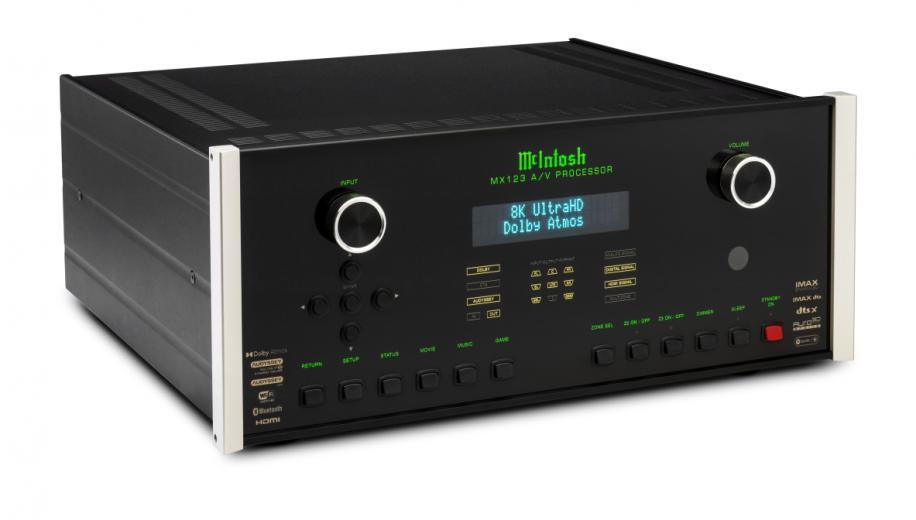 McIntosh MX123 AV processor gets 8K upgrade