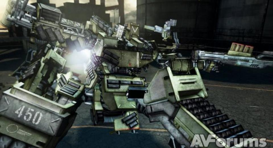 Armored Core V PS3 Review