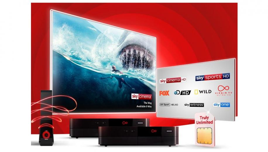 Virgin Media TV customers get 18 free channels