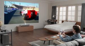 LG CineBeam Laser 4K Projector at CES 2019