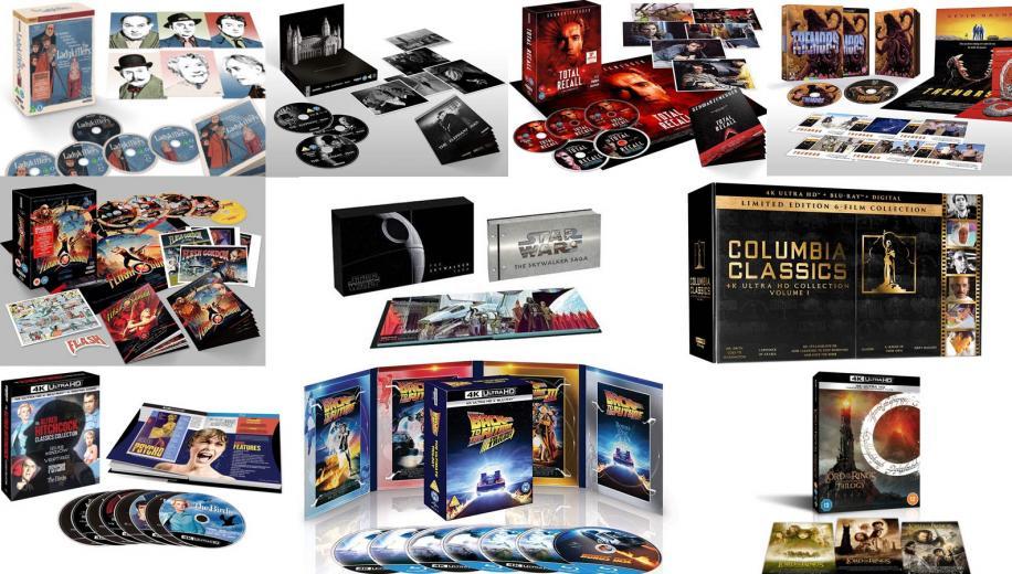 Top Ten 4K Blu-ray Box Sets of 2020
