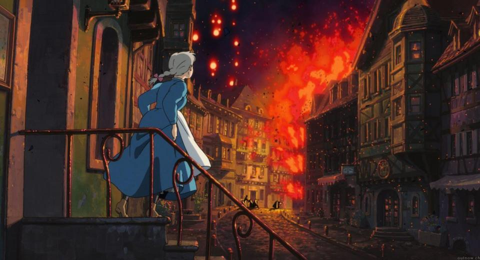 Howl's Moving Castle Blu-ray Review