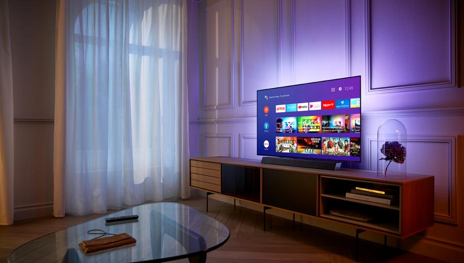 Philips OLED+ 934 4K TV Hands On