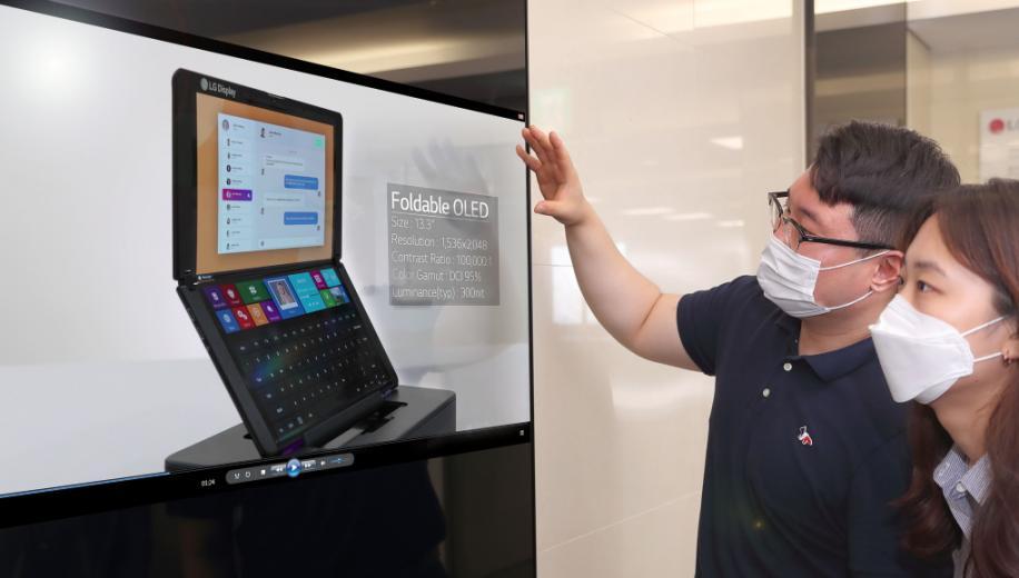 LG Display next generation OLEDs showcased at SID 2020