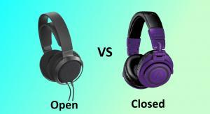 Closed back versus open back headphones: Is one better?