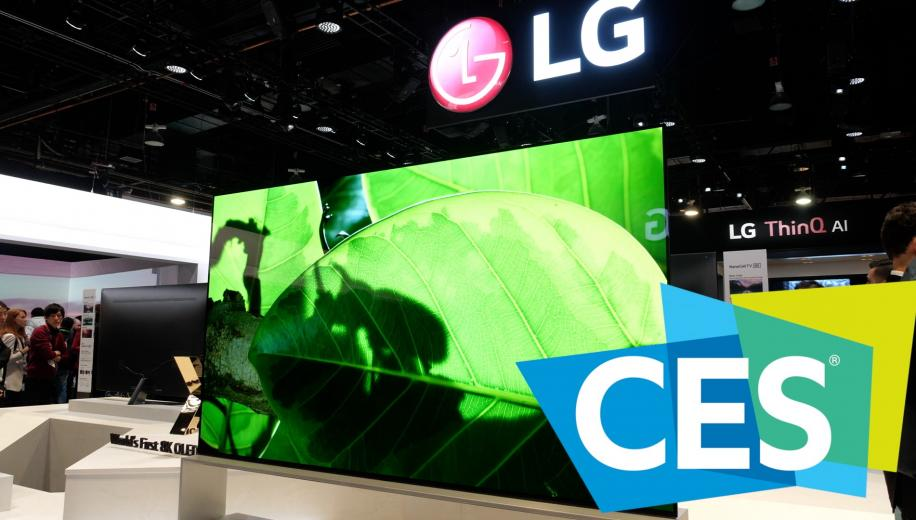 CES VIDEO: LG 8K and Rollable OLED TVs, plus, C9, E9 and W9 Models