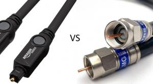 Coaxial Cable vs Optical - What's the Difference?