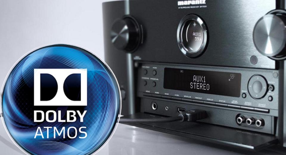 Dolby Atmos AV Receivers Group Test