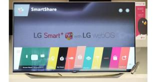 LG announce webOS 2.0 for CES Smart TVs