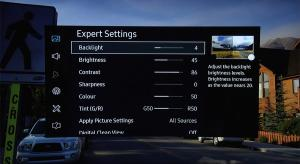 Samsung UE65KS9500 Best TV Picture Settings