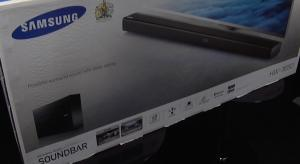 Unboxing and first look at the Samsung HW-J650 Soundbar