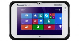 CES 2014: Panasonic Launches Rugged 7-inch Windows Tablet