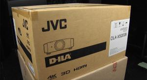 Unboxing and First Look at the JVC DLA-X5000B Projector