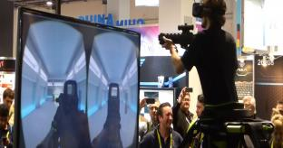 VIDEO: VR gaming at CES 2015