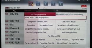 LG Smart TV System 2012 Review
