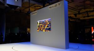 VIDEO: Samsung unveils 75-inch Micro LED TV at CES 2019