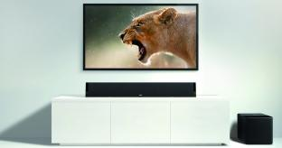 KEF Launch V720W Digital TV Soundbar System