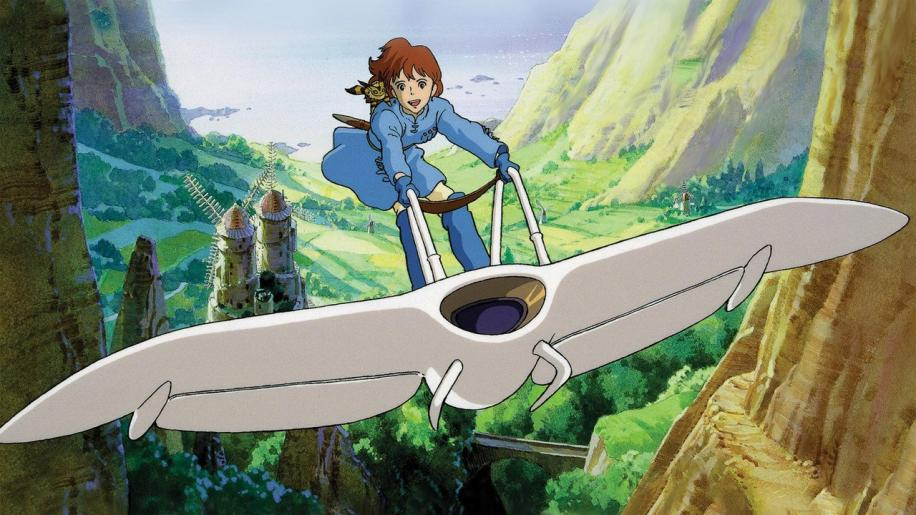 Nausicaa Of The Valley Of The Wind DVD Review