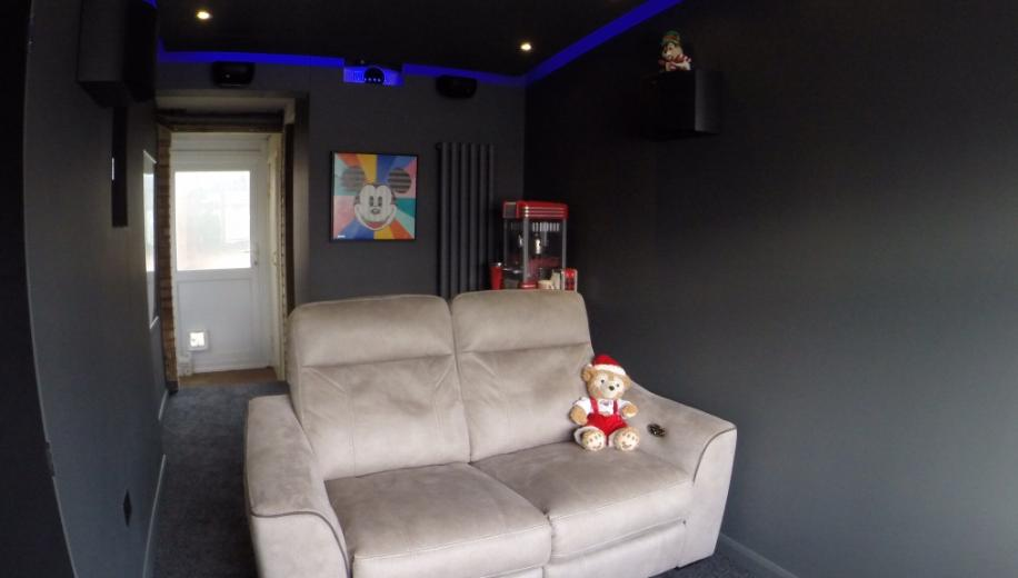 From The Forums Diy Garage Home Cinema Conversion Avforums
