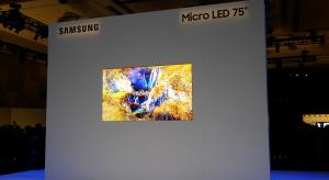 CES 2019 News: Samsung unveils Micro LED TVs
