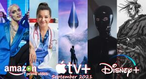 What's new on UK streaming services for September 2021