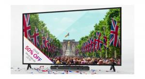 Sky Q offer knocks more than 50% off 4K HDR LG TV