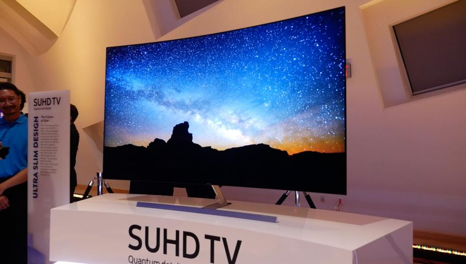 video samsung show ultra slim led tv at ces to challenge oled