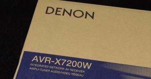 VIDEO: Unboxing the Denon AVR-X7200 AV Receiver